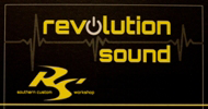 revolution sound Banner Button